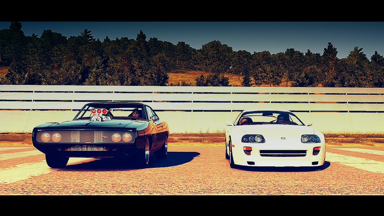 Forza Horizon 2 Fast And Furious Brians Toyota Supra Vs