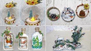 7 идей Новогодних поделок и подарков своими руками. Новогодний декор DIY
