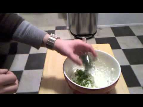How To Make Herb Goat Cheese Dip