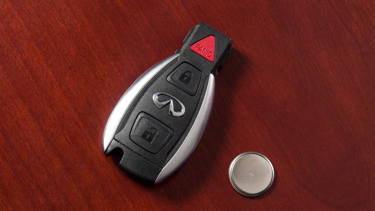2018 5 Infiniti Qx30 Key Remote Battery Replacement