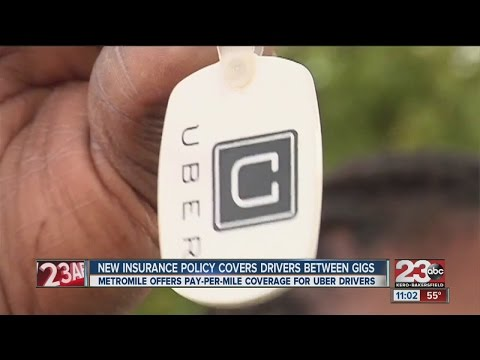 New insurance to cover Uber drivers heading to pick up customer