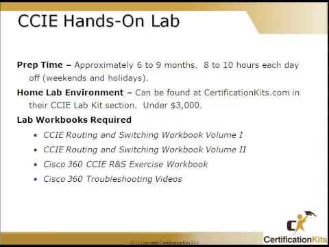 How to become a Cisco CCIE Part 2 – CertificationKits com