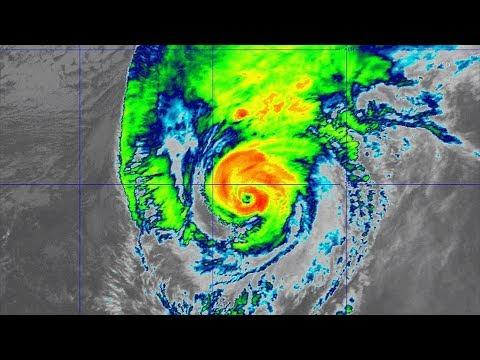 Hurricane Lorenzo to reach Azores tonight - 2pm UTC Oct 1, 2019