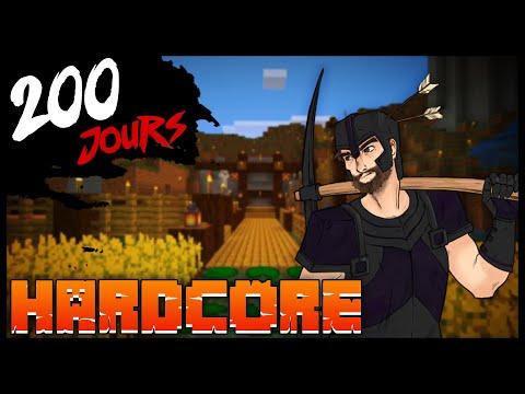 J'ai survécu 200 Jours en Hardcore sur Minecraft... Voici ce qu'il s'est passé