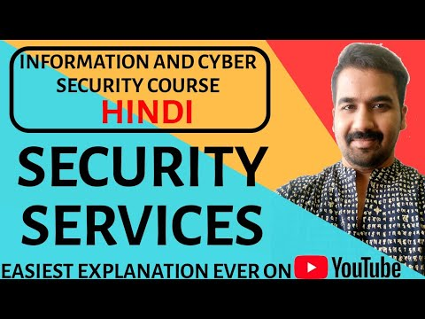 Security Services ll Categories ll Information and Cyber Security Course Explained in Hindi