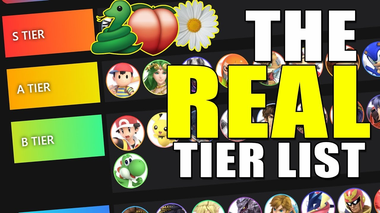 Month 1 - The Smash Ultimate Tier List But It's Actually Based On Results