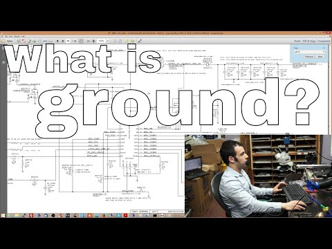 What is ground and what is its purpose in a circuit?