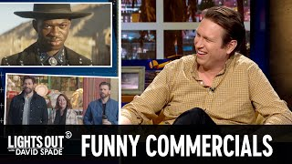The Big Game's Biggest Commercials (feat. Pete Holmes) - Lights Out with David Spade