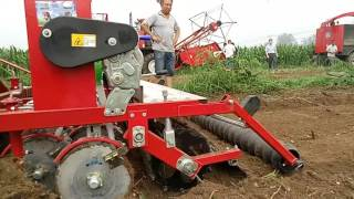 VID seed drill working video