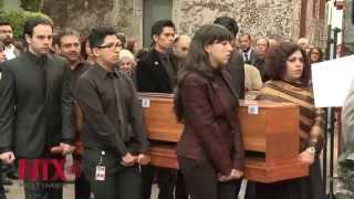 Depositan restos de Sor Juana en ex templo de San Jerónimo