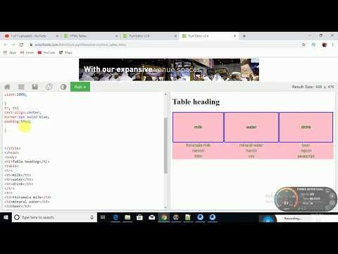 html tutorial in telugu part 2 thumbnail