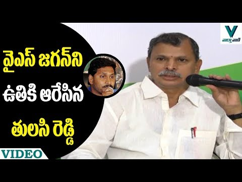 Congress Leader Tulasi Reddy Comments on YS Jagans Padayatra - Vaartha Vaani