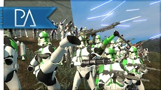HUGE CLONE WARS BATTLE - Star Wars - Bear Force II Mod Gameplay