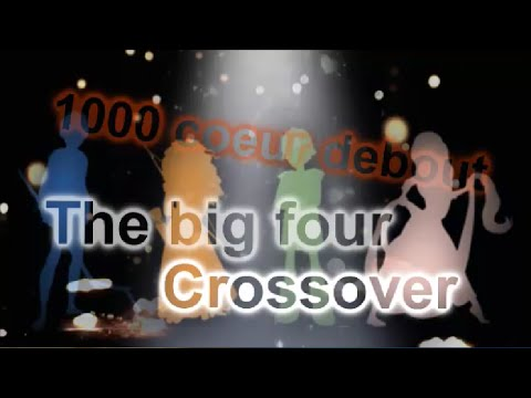 The big four crossover 1000 coeur debout