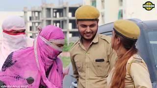 लड़कियों का चालान    काटने वालियों का काटा    funny video 2019    Hurrrh   