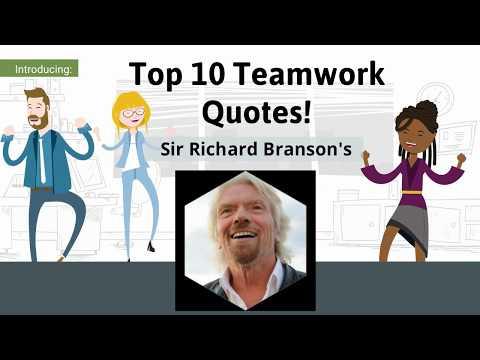 Sir Richard Branson's Top 10 Teamwork Quotes!