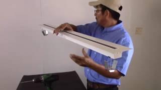 6600 Series: 6610 52-1 Supply/Return Linear Slot Diffuser Installation