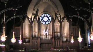 "FSPC - 15 May 2011 - Organ Postlude - ""Prelude & Fugue in C Major"" (JS Bach) - Jon DeHorn"