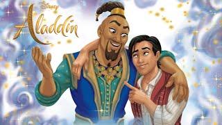 ALADDIN 2019 | Movie Story Book | A Friend Like Him