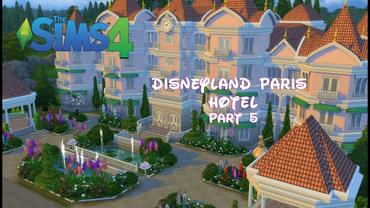 The Sims 4 Disneyland Paris Hotel Spa Swimming Pool Part 5 Youtube