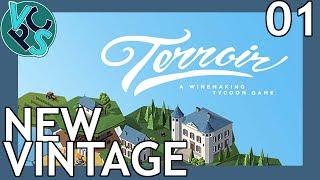 Terroir EP01: New Vintage – Wine Making Tycoon Simulator – Green Hagen
