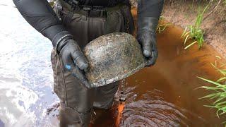 Вещи Солдат СС в железной реке раскопки Юрий Гагарин