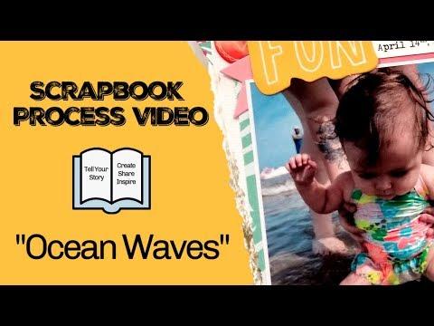 Download Scrapbook Layout Process