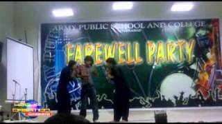Army Public School And College System Hyderabad Cantt Farewell Tablo FunnY