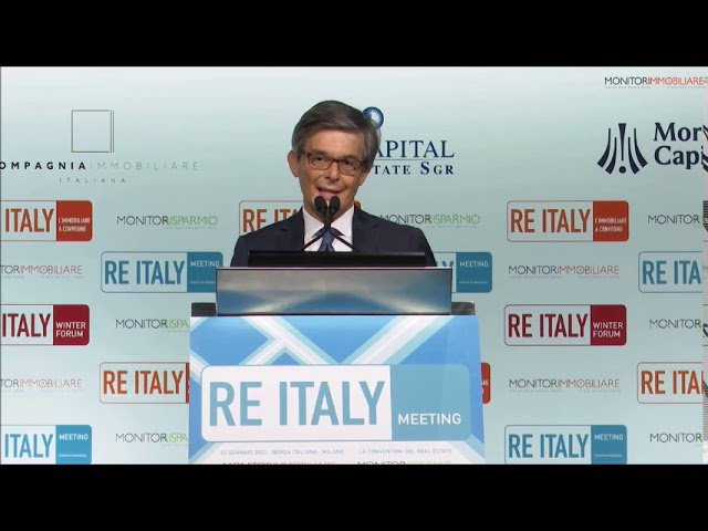 Re Italy Meeting 2020: Intervento di  Marco Grumetti, Vice Presidente Fiaip Lombardia
