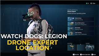 Watch Dogs Legion - Best Location To Recruit Drone Experts