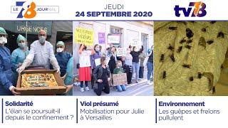 7/8 Le Journal. Edition du 24 septembre 2020