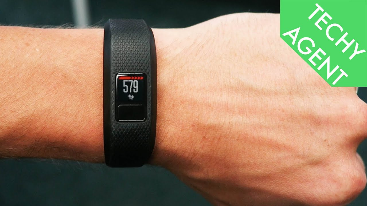 Garmin Vivofit 3 - Fitness REVIEW - YouTube