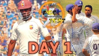 gaming series india v west indies test match day 1 pge yearly traditional test match