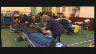 Muslims Donate Blood - BBC Midlands Today