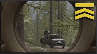 Woodland Sniper Support - Tactical Squad Multiplayer Squad Gameplay (Squad Full Game)