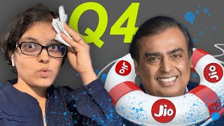 How Jio Saved Reliance Q4 Result? RIL Share Q4 Result Analysis By CA Rachana Ranade