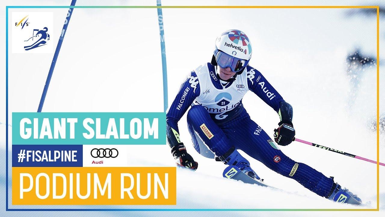 Marta Bassino Women S Giant Slalom Killington 1st Place Fis Alpine Youtube