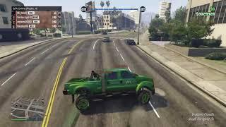 Grand Theft Auto V - close call