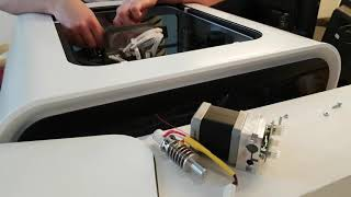 Replacing Extruder of 3D printer CubePro