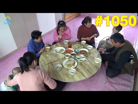 牛二条 1050 东北人钟爱韭菜盒子 一冬天没吃馋的慌 老妈做几盘吃着过瘾!