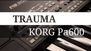 Gambar cover TRAUMA Karaoke lirik vocer KORG Pa600