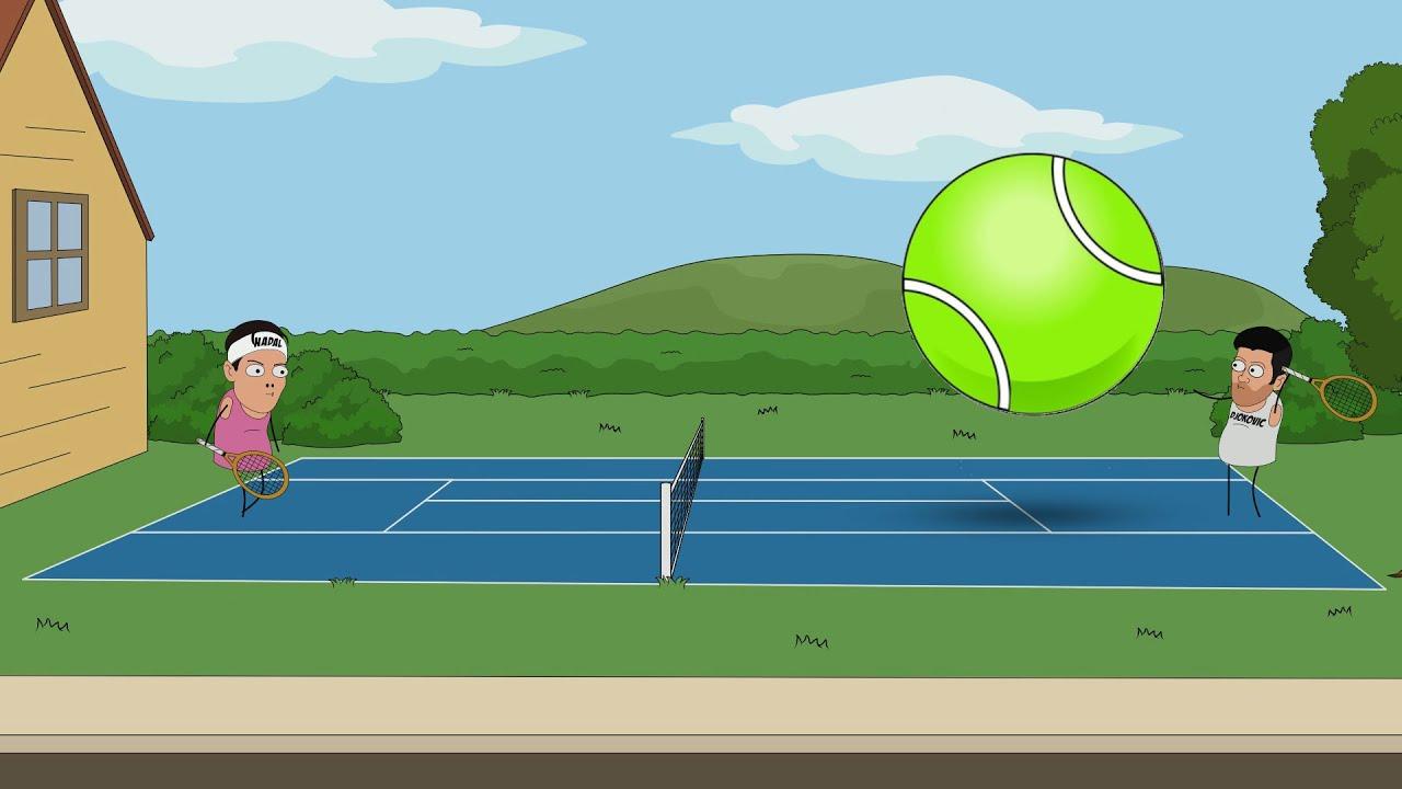 Wielki tenis | Animacje Polish Sausage