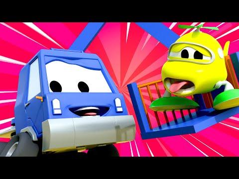 Troy The Train   The big secret   Car City ! Train Cartoon for children