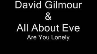 Are You Lonely - All About Eve & David Gilmour