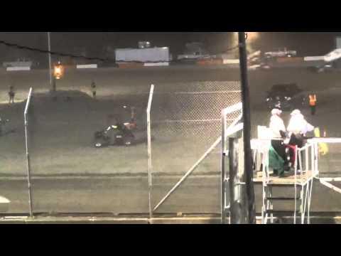 6.19.15 All Star Sprints A-Main From Attica Raceway Park