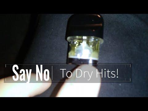 Stop Dry Hit on the Smok Novo