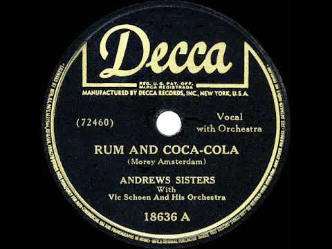 Andrews Sisters - Rum And Coca-Cola
