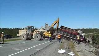 VOCM NEWS - Dump Truck off road