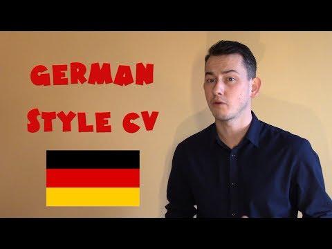 Germany #29 - German-style CV