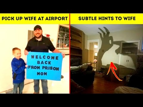 Hilarious Boyfriends And Husbands Made Sure Their Relationship Is Never Boring